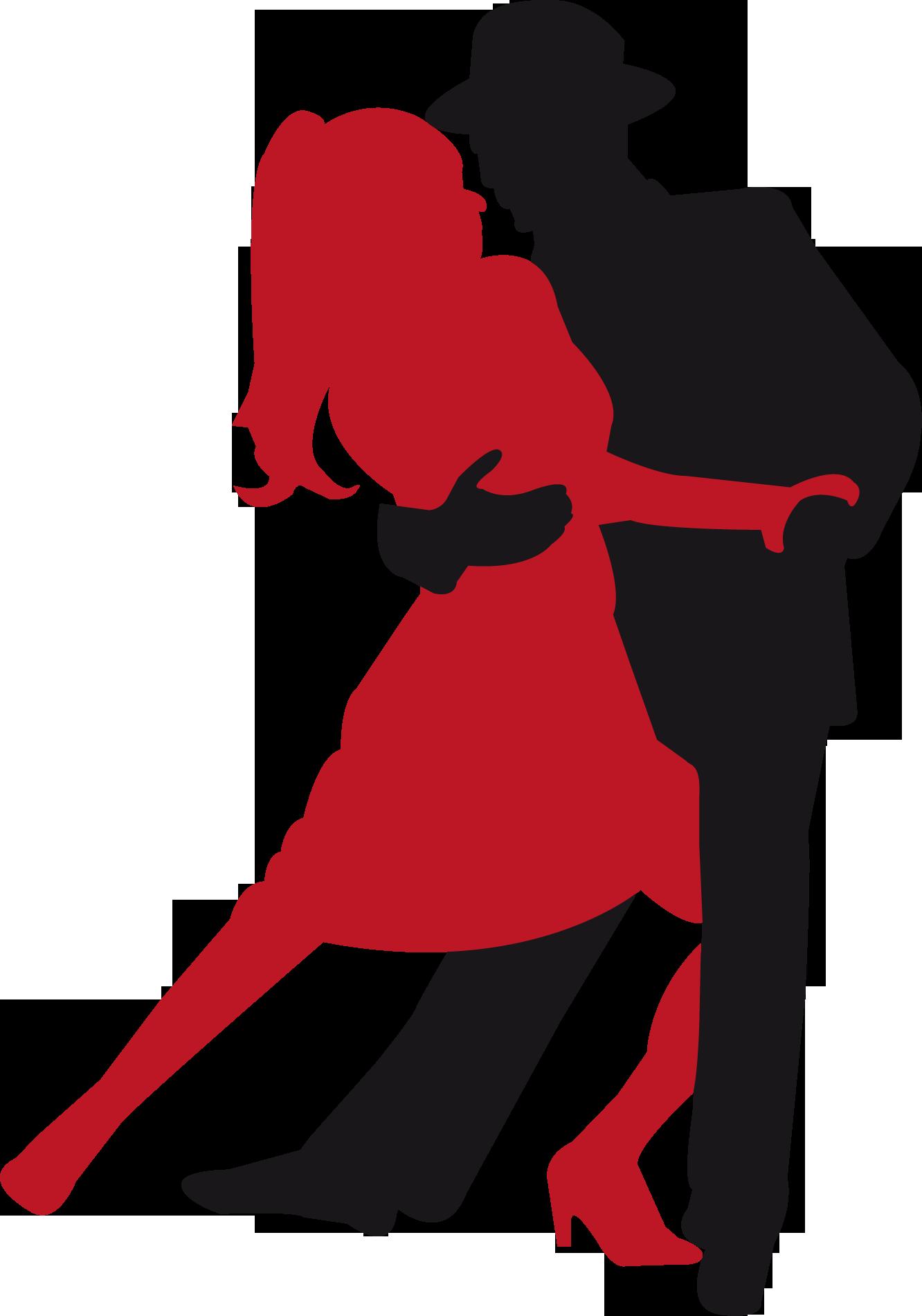 Парные танцы новогодняя акция, танго акция