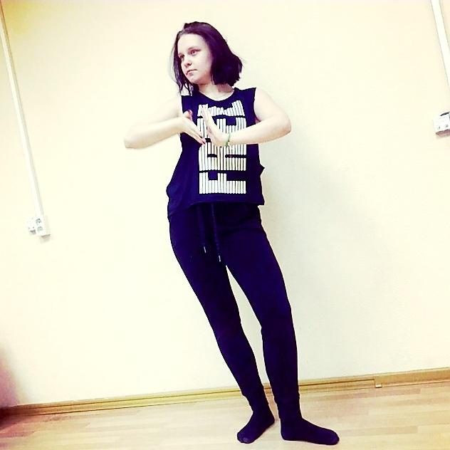 Танец вог, Александра Комарова