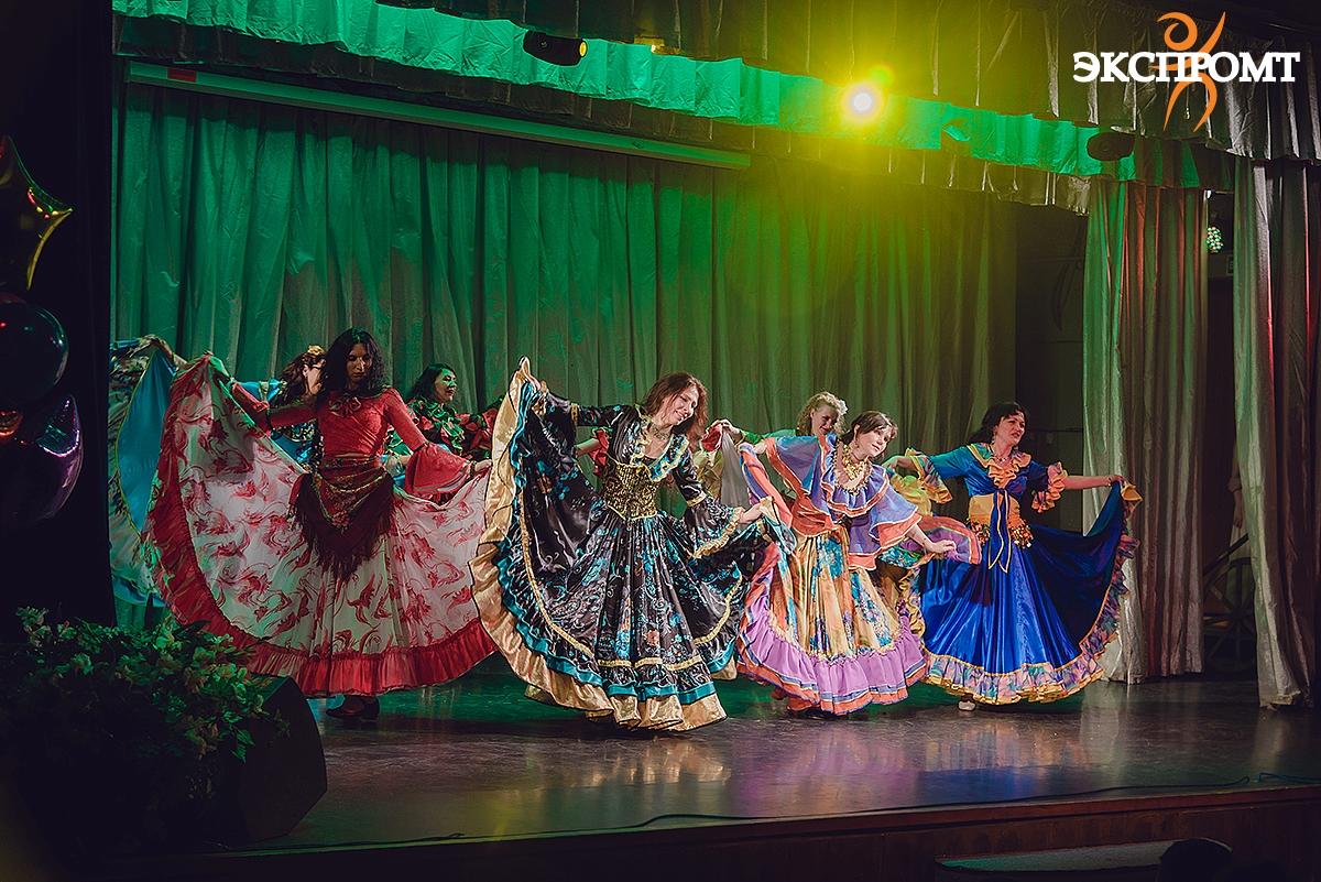 """Цыганский танец . Школа цыганского танца """"Экспромт"""""""