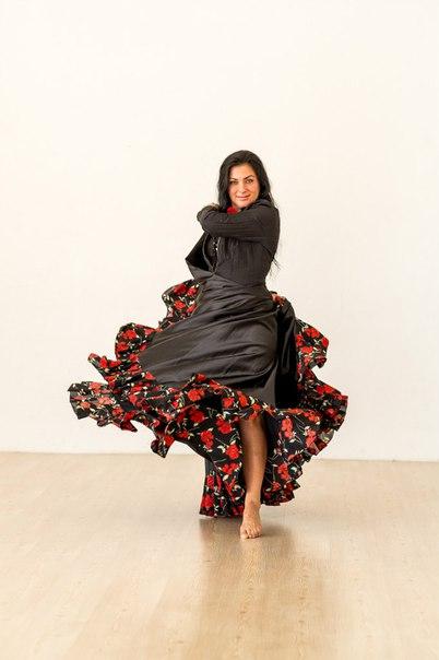 Александра Усанова. Цыганский танец