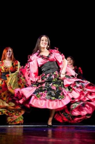 цыганский костюм, костюмы для цыганского танца, аренда костюмов для цыганского танца, прокат цыганских костюмов