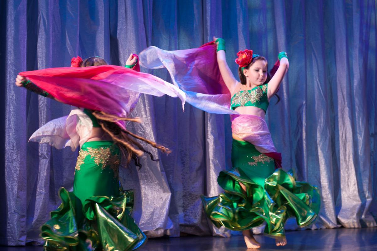 Детский восточный танец, танец живота для детей