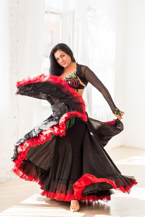 Александра Усанова. Танец живота. Школа танца живота. Восточный танец