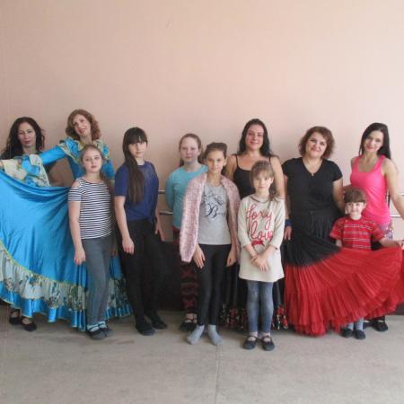 Мастер класс по цыганскому танцу. Мичуринск.