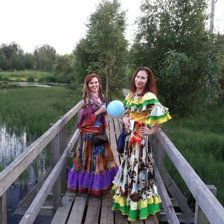 """Цыганский танец . Школа цыганского танца """"Экспромт"""" в Токсово 2017"""