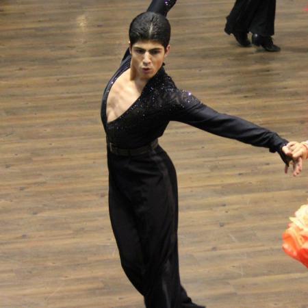 Александр Гаспарян, бальные танцы, латина соло