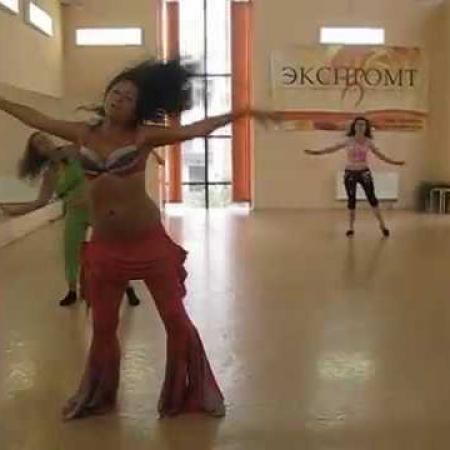 Танец живота под тяжелый рок. Rock Belly dance Rub Al'Khali - Sanctorium