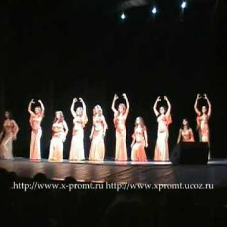 "Sagat  Bellydance Танец живота Царство золотой рыбки"""
