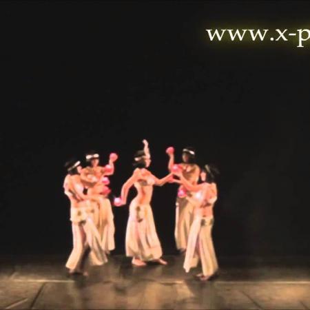 "Танец живота ""Храм Исиды"" Belly dance ""Temple of Isis"""