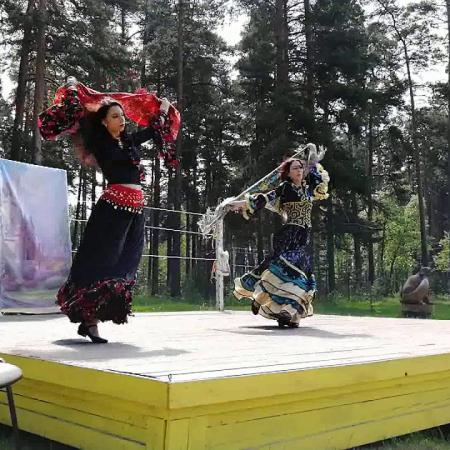 """Цыганский танец """"Маменька"""". Школа танцев """"Экспромт"""" СПб."""