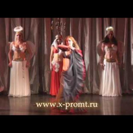 "Танец живота шоу. Show belly dance. ""The three Musketeers"" perfomance."