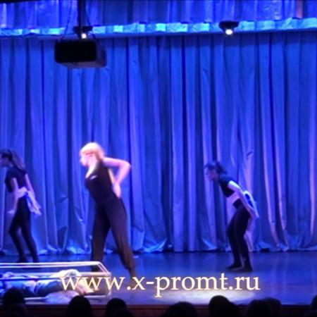 """Танец контемопорари. Отрывок из танцевального спектакля. Школа танцев """"Экспромт"""""""