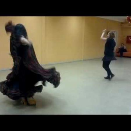 "Цыганский танец ""Нанэ Цоха"". Школа танцев ""Экспромт""."