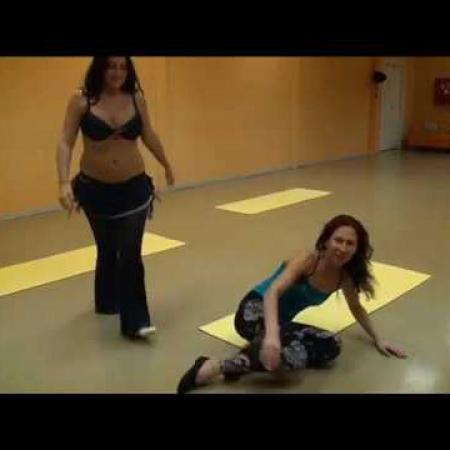 """Урок 6. Танец живота, восточные танцы, арабский танец. Школа танцев """"Экспромт"""" СПб"""