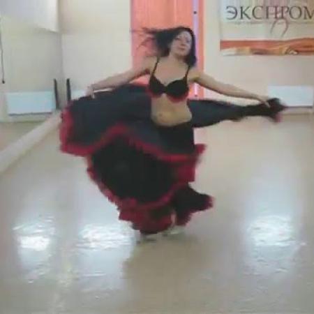 Танец живота. Восточный танец. Rosas negras (Gaston Chaade), belly dance