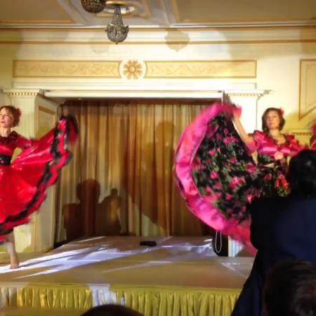 Цыганский танец. Постановка на праздник, корпоратив, юбилей, свадьбу.