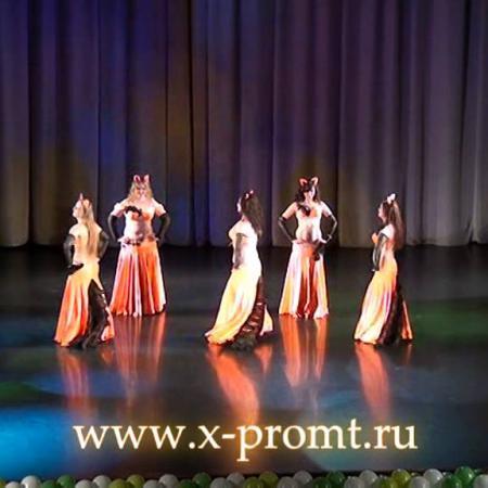 "Танец живота ""Лисы"". Belly dance ""Foxes""."