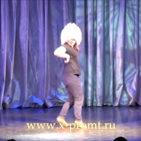 """Лезгинка фьюжн. Отрывок из танцевального спектакля. Школа танцев """"Экспромт""""."""