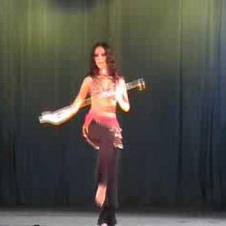 Hopa Eshta . Bellydance with cane (assaya). Танец живота с тростью (ассаей) .