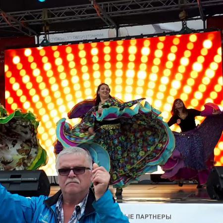 "Цыганский танец ""Танцуй девушка"". Gypsy dance. Школа танцев ""Экспромт"""