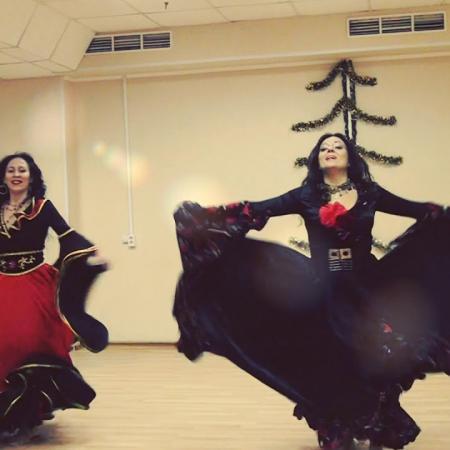 "Цыганский танец ""Танцуй, девушка"" (""Мар, дяндя"") . Школа танцев ""Экспромт"" СПб обучение онлайн"