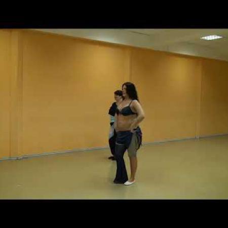 """Урок 7. Танец живота, восточные танцы, арабский танец. Школа танцев """"Экспромт"""" СПб"""
