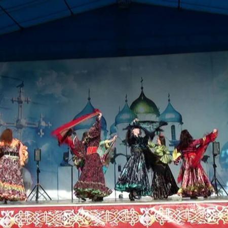 """Цыганский танец с шалью """"Маменька"""". Gypsy Dance. Школа танцев """"Экспромт"""" Санкт-Петербург"""