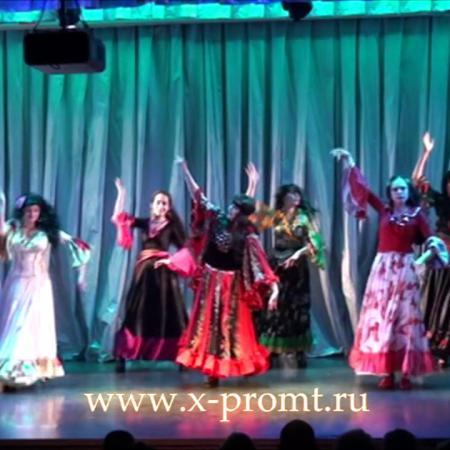 "Цыганский танец ""Нанэ цоха"". Gypsy Dance. Школа танцев ""Экспромт""."