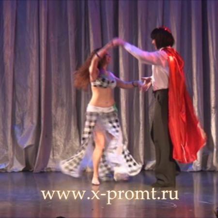 """Танец """"Кардинал и Миледи"""". Бальные танцы. Школа танцев """"Экспромт""""."""