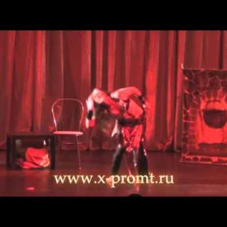 """Танец живота под тяжелый рок """"Rub al Khali"""" песня группы """"Санкториум"""" СПб."""
