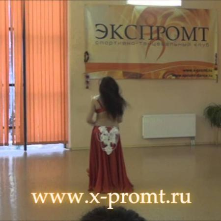 """Танец живота. Выступление на частной вечеринке в доме танцев """"Экспромт"""""""