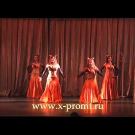 """Танец живота. Восточный танец. Танец Лис.  """"Foxes""""  bellydance."""