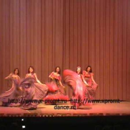 Цыганский танец «Ночь в таборе» Школа танцев Экспромт