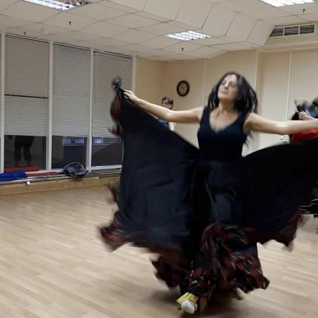 """Танец """"Прэ Почта"""" (Репетиция на уроке). Школа танцев """"Экспромт"""" Санкт-Петербург"""
