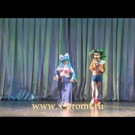 """Танец живота """"Мальвина"""", отрывок из спектакля.школа танцев """"Экспромт"""" Санкт-Петербург"""