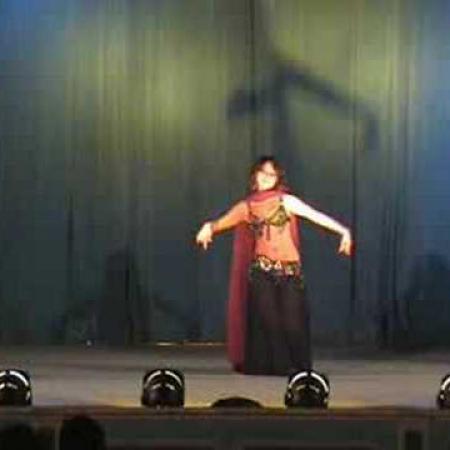 Танец живота с шалью. Veil bellydance.