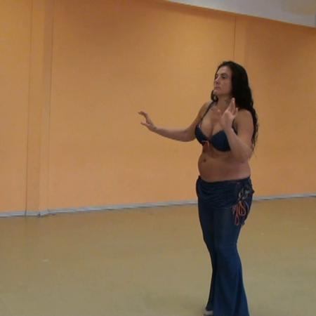 """Урок 2. Танец живота, восточные танцы, арабский танец. Школа танцев """"Экспромт"""""""