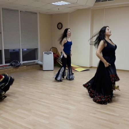 """Цыганский танец """"Танцуй девушка"""". Школа цыганского танца """"Экспромт"""""""