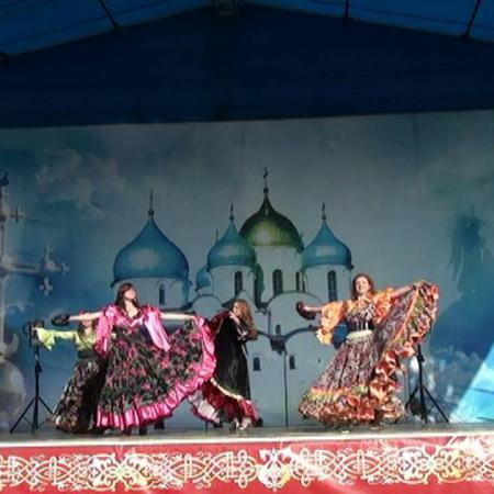 "Цыганский танец ""Кумушка"". Gypsy Dance. Школа танцев ""Экспромт"" Санкт-Петербург"