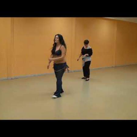 """Урок 9. Танец живота, восточные танцы, арабский танец. Школа танцев """"Экспромт"""" СПб"""