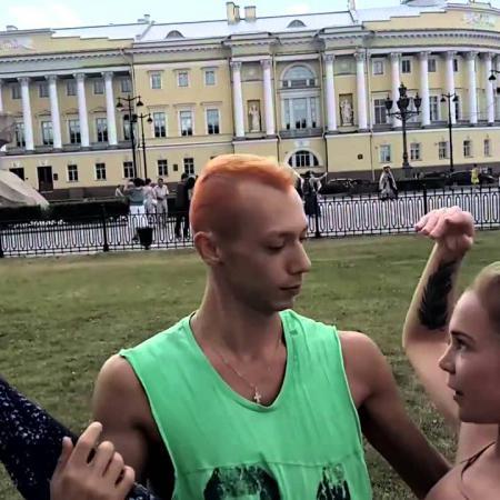 """Дориан и Аня Гутовская. Школа танцев """"Экспромт""""."""