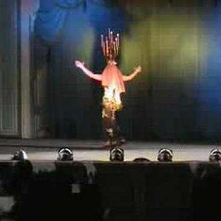 Zeffa (Zaffa, Shamadan) Танец живота с канделябром, шамадан. Зеффа