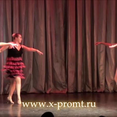 """Танец Latina solo микс. Отрывок из танцевального спектакля. Школа танцев """"Экспромт"""""""