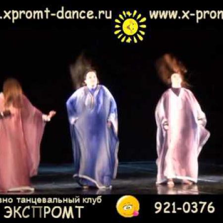 """К дню рождения Оли Быстровой. Школа танцев """"Экспромт""""."""