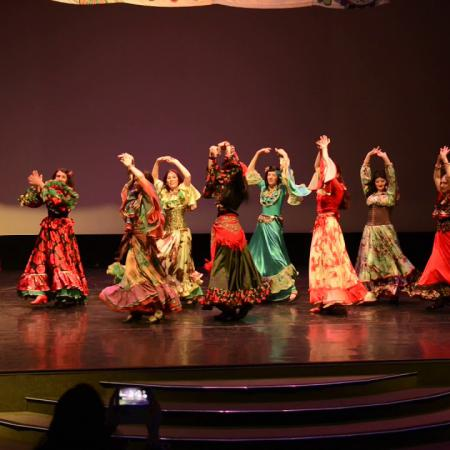 "Цыганский танец ""Танцуй, девушка"". Школа танцев ""Экспромт"" СПб."