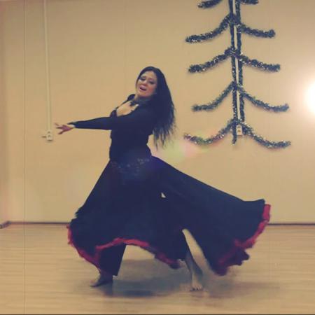 """Танец живота, восточный танец цыганский (фьюжн) """"Gelem, gelem"""" Aggeliki Toumbanaki - Джелем, джелем"""