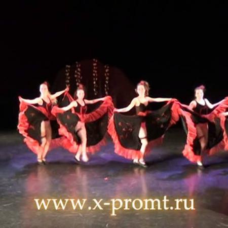 """Канкан. Номер из танцевального спектакля """"Золушка"""" школа танцев """"Экспромт"""""""