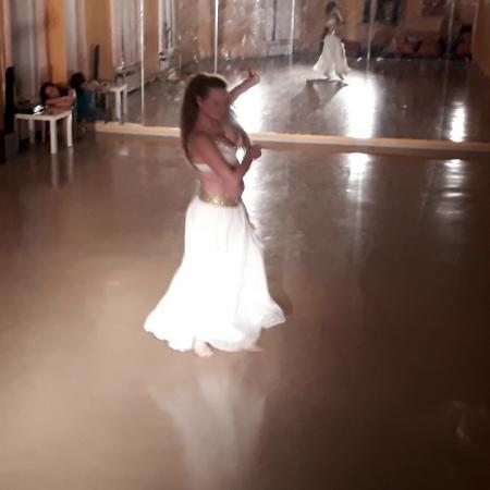 "Танец живота с крыльями. Репетиция. Школа танцев ""Экспромт"" СПб"