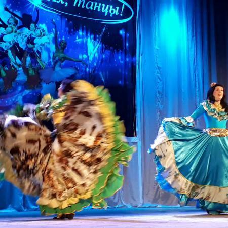 "Цыганский танец ""Мар дяндя"". Фестиваль ""4 стихии"" г. Мичуринск"