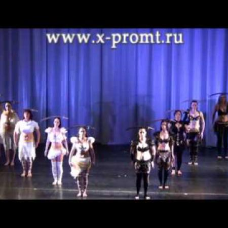 Paul Dinletir - Pharonic Odyessey. Танец живота с саблей.